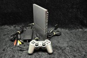 Sony-Playstation-2-PS2-Console-Slim-Zilver