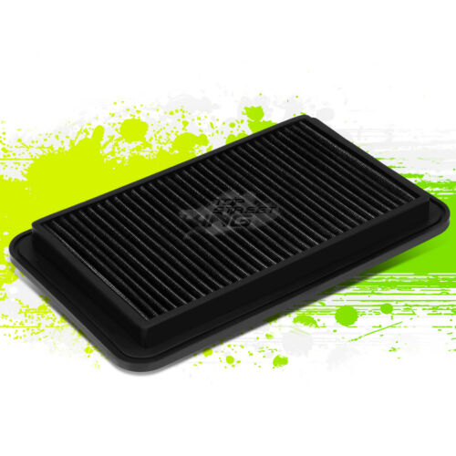WASHABLE DROP IN PERFORMANCE AIR FILTER FOR 04-06 SOLARA//CAMRY//SIENNA BLACK