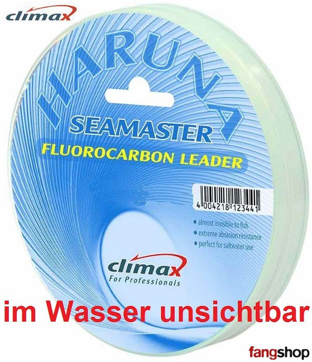 Climax Schnur Haruna Seamaster Fluorocarbon unsichtbare Vorfach Schnur Climax Norwegen TOP f5f7f6