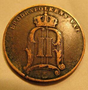 Rare-1905-SWEDEN-5-ORE