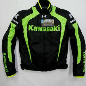 Men-039-s-racing-jacket-KAWASAKI-Winter-automobile-race-clothing-motorcycle-clothes