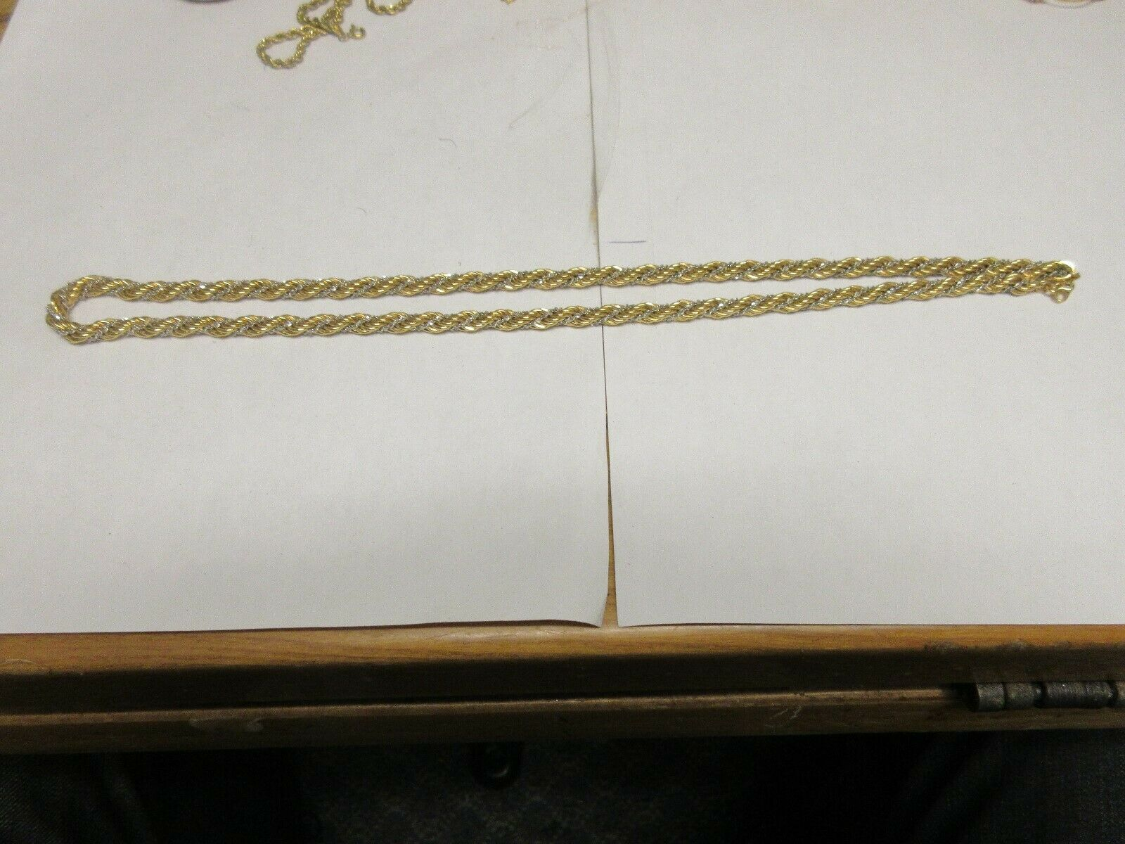 """Costume Jewelry , Vintage , Monet , Rope Necklace , 24"""""""