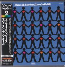 Pharoah Sanders - Love In Us All (1974) IMPULSE! JAPAN MINI LP CD Cecil McBee