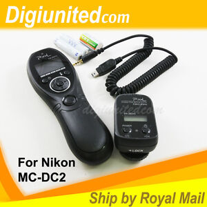Pixel-Wireless-Timer-Remote-Control-for-Nikon-MC-DC2-D90-D3100-D5000-D5100-D7000
