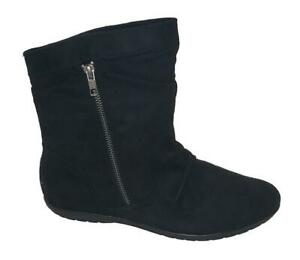 R2-Footwear-Burke-Womens-Black-High-Ankle-Boots-size-9