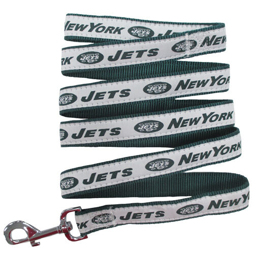 New York Jets Genuine Licensed Dog Collar and Leash Combo Set 2 piece SMALL