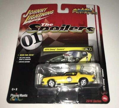 Johnny Lightning Street Freaks 1976 Chevy Camaro The Spoilers 1//64 #3 Limited