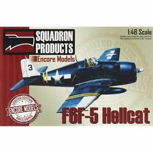 Encore-Models-48007-F6F-5-Hellcat-1-48-Model-Airplane-Kit-Squadron-Products
