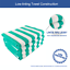 miniature 43 - Cabana Beach Towel 4 Packs - 30 x 70 Extra Large Striped Cotton Bath Towels