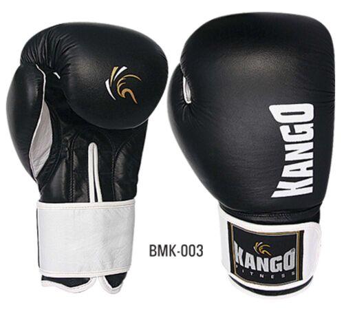 Kango Fitnes Pro PU Boxing Gloves Muay Thai Kick Sparring Training MMA UFC