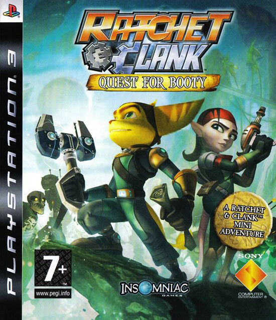 Ratchet Clank Quest For Booty Downloadable Game Voucher Ps3 For
