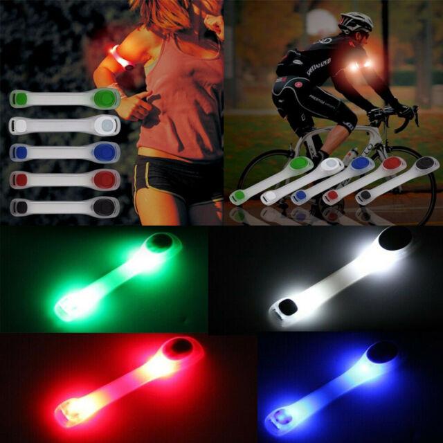 LED Reflective Flashing Arm Band Strap Safety Belt Night Running Cycling