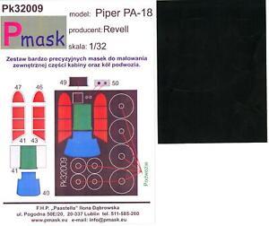 Model-Maker-1-32-PIPER-PA-18-SUPER-CUB-Paint-Mask-Set-for-Revell-Kit
