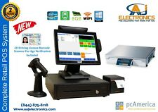 All In One Touch Screen Pos Complete Systempc America Cre With Weight Scale