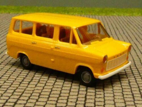1//87 Brekina Ford Transit IIb Bus gelb 34100ge