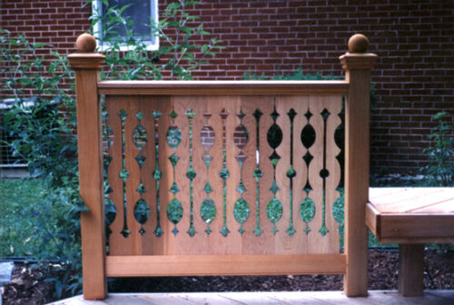 SECOND EMPIRE CEDAR PORCH OR DECK BALUSTERS SAMPLE OR QUANTITY FLAT SAWN