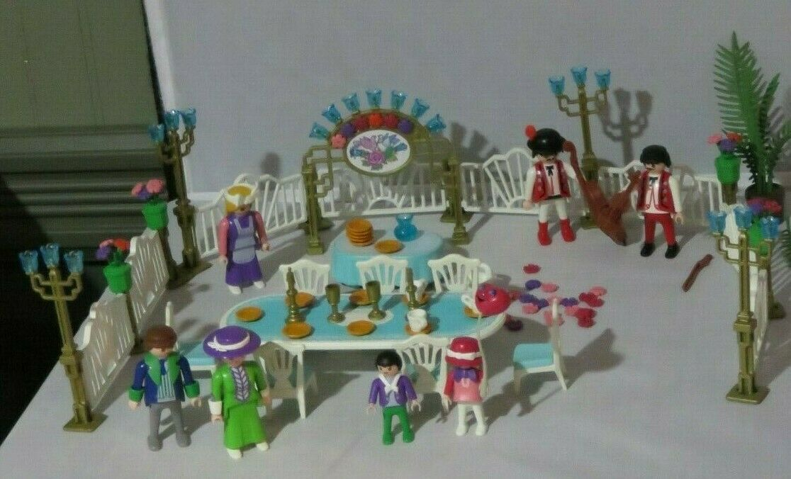Playmobil Viktorianische Villa Hundzeit Reception  5339 Fast Komplett