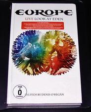 EUROPE LIVE LOOK AT EDEN CD + DVD + BOOK SCHNELLER VERSAND NEU & OVP