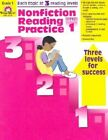 Nonfiction Reading Practice Grade 1 by Katherine Scraper (Paperback / softback, 2003)