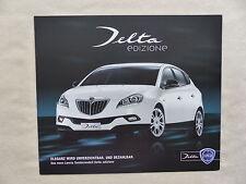 Lancia Delta Sondermodell edizione - Prospekt Brochure 09.2009