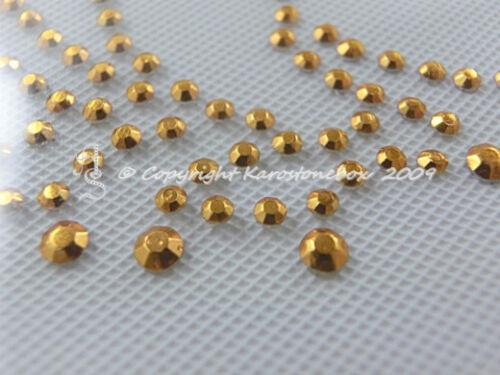 grenouille roi Gold 130115 karostonebox Hotfix metallstuds Bügelbild joli KL