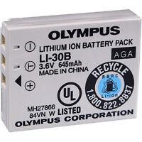 Olympus Li-30b Battery For Stylus Verve Digital Cameras Brand Original