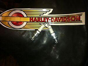 HARLEY-PANHEAD-GENUINE-SPARK-PLUGS-PR-3-4-HEAT-RANGE-ORIGINAL-NEW-POWER-USA-MADE