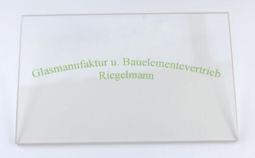 Ofenglas 10,5 x 44 cm  Dicke: 3 od ROBAX®-Kaminglas 5 mm 4 od