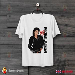 Michael-Jackson-Bad-Super-Cool-Vintage-UNISEX-T-Shirt-B551
