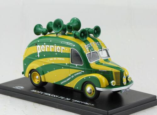 Hotchkiss PL20 Transporter Perrier 1:43 Hachette Eligor Modellauto