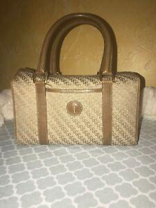 cba168070d1bc Details about Vintage Gucci Boston Doctor Bag Purse GG Monogram Authentic  80s Super RARE!
