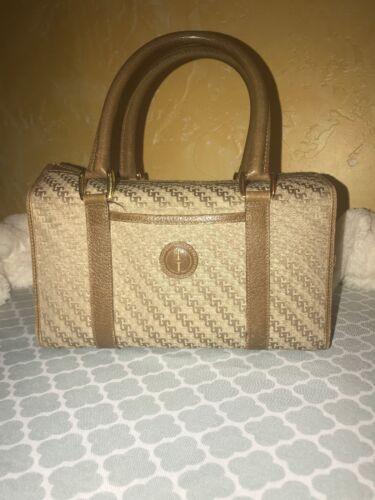 Vintage Gucci  Boston Doctor Bag Purse GG Monogra… - image 1