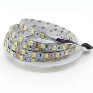 Details about 5m 300 led Strip Light Dual Color 5050 CCT Color Temperature  Dimmable tape lamp