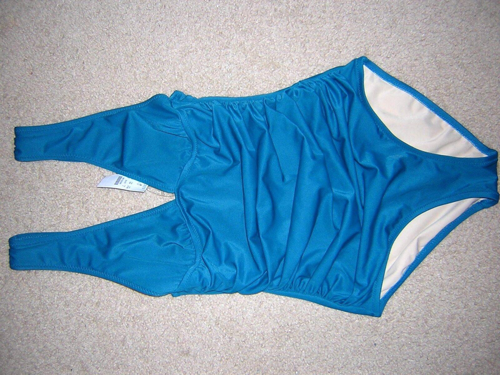 NEW  J. CREW One Piece Swimsuits Size 2  color Petroleum
