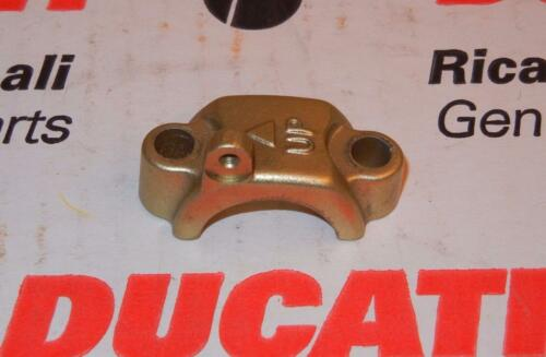 Ducati Brembo master cylinder handlebar clamp with pin mount 32mm centers GOLD *