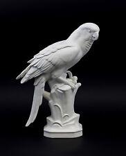 43305 Porzellan Figur Gräfenthal Gelbbrust-Ara Vogel bisquit