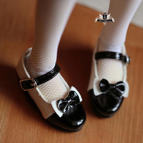 1//4 BJD Shoes MSD Dollfie DREAM DZ DOD SOOM LUTS Dollmore Shoes bow Lolita Shoes