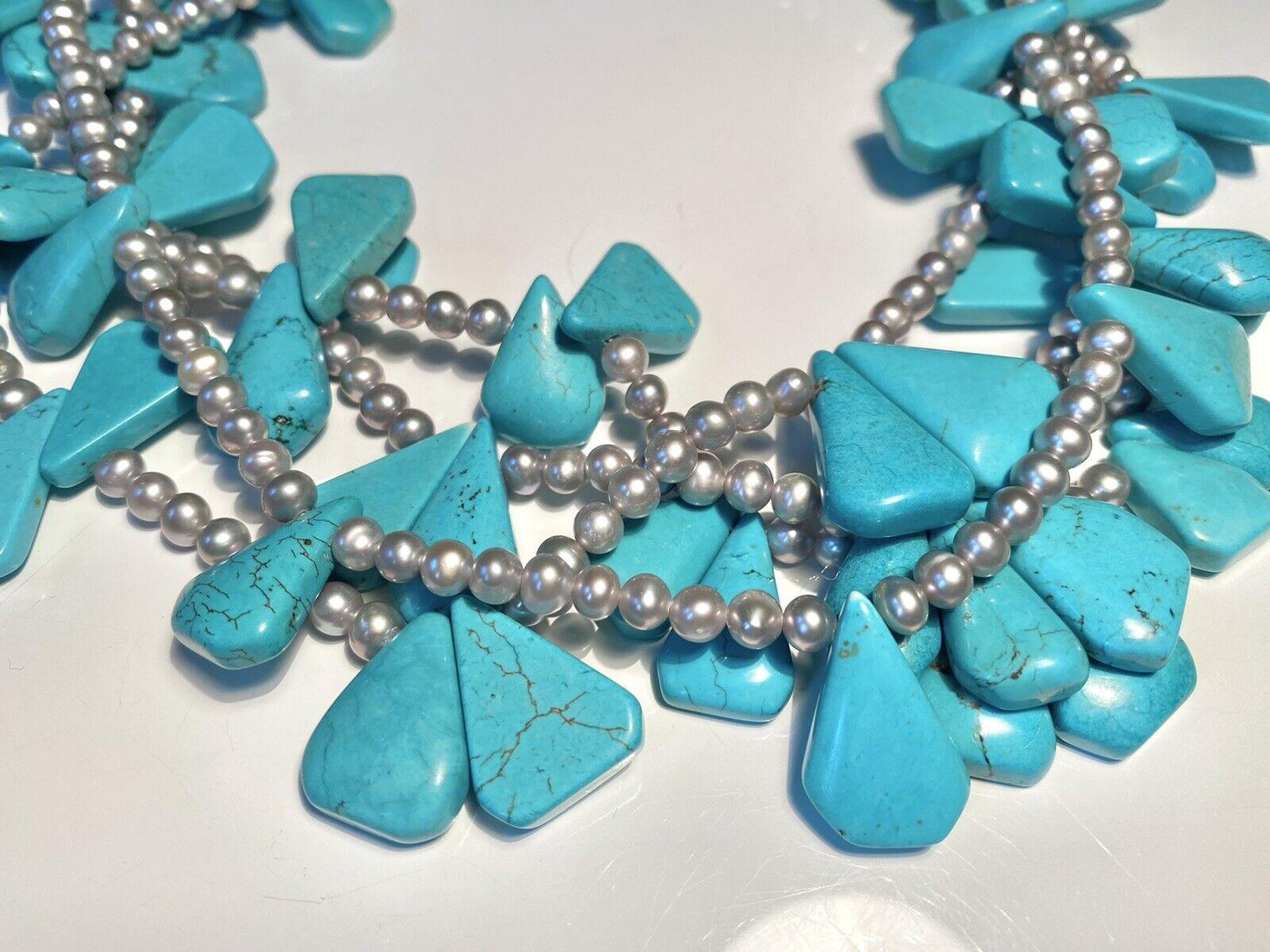 Diana Venezia Turquoise Necklace - image 7