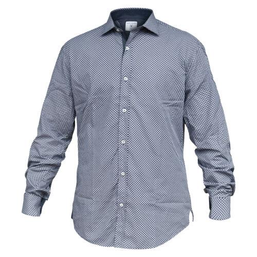Da Art A Tg M 3xl Fantasia n691010 Navigare Uomo Navy Camicia Cotone TSawqa