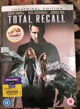 Total Recall (DVD, 2012) Colin Farrell, Kate Beckinsale & Jessica Biel - inc UV