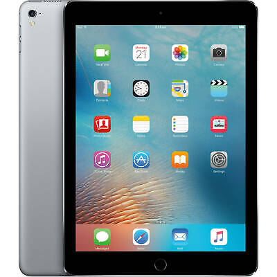 Apple iPad Pro A1674 32GB 9.7 GSM Unlocked Tablet-Space Gray-Excellent
