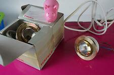 2 Unterbaulampen Möbel Einbaulampen gold Küchenlampen schwenkbar Häfele M29