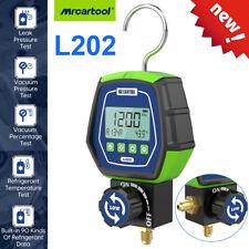 L202 Hvac Digital Manifold Gauge Refrigeration Vacuum Pressure Tester Meter Tool