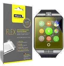 3x InterActive SmartWatch Q18 Schutzfolie Folie, 100% Displayabdeckung, dipos