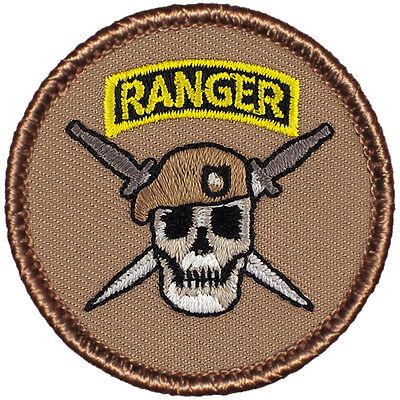 Cool Boy Scout Patrol Patch! #799 The Texas Rangers Patrol!