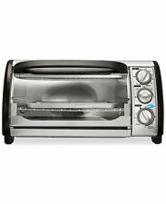 Toaster Oven 4 Slice 12 Litre With Pan And Baking Rack