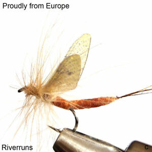 69de03d2cda Riverruns Realistic Flies Mayfly Stone Fly Caddis Dry And Nymp 4 Colors  Trout  8