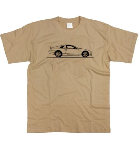 Motorholics Mens Original Sketch Nissan 300ZX T-Shirt S 5XL