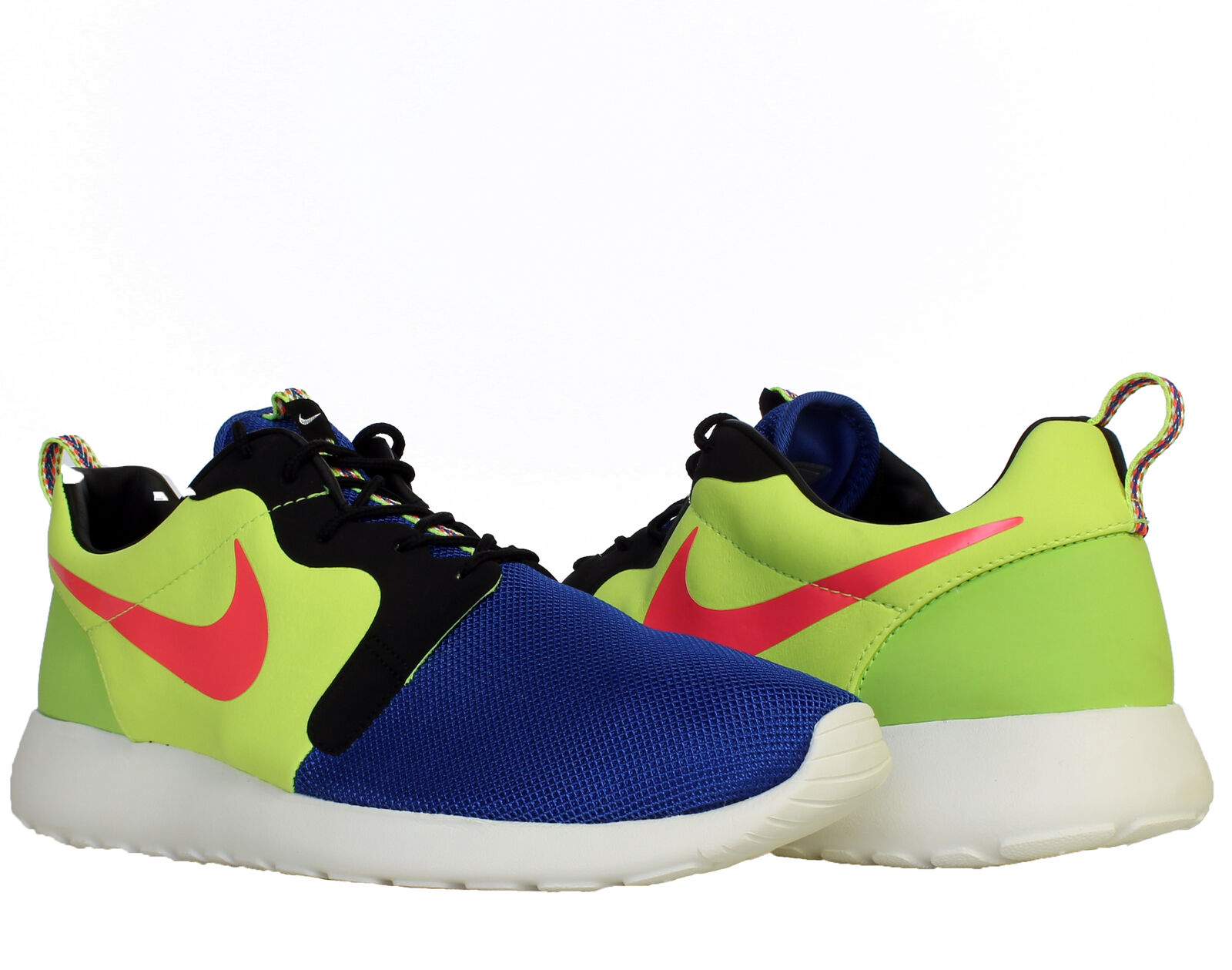 new style 149ab f8a11 Nike Rosherun HYP PRM QS Royal Punch-Volt Men s Running Shoes Shoes Shoes  669689