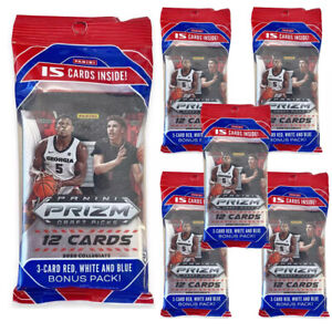 Panini-NBA-Prizm-Draft-Picks-Basketball-Trading-Card-Multipack-Bundle-of-6-Packs